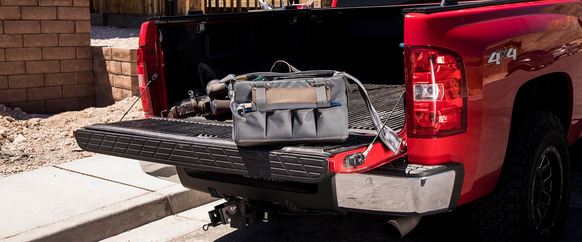 Estwing work tool bags and tool storage